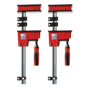 """Revo Fixed Jaw Parallel Clamp, 12"""", Pair"""