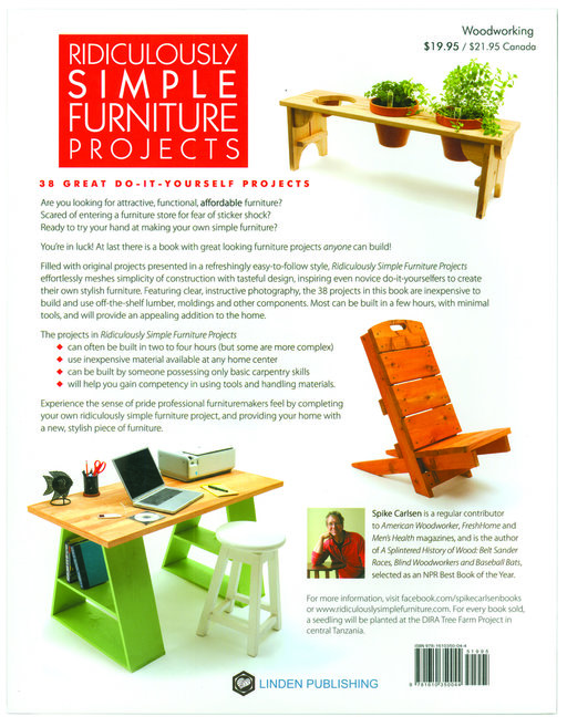 View a Larger Image of Ridiculously Simple Furniture Projects: Great Looking Furniture Anyone Can Build