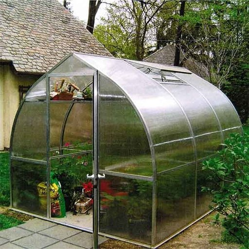 View a Larger Image of Riga III Greenhouse Kit, 102 sq. ft.