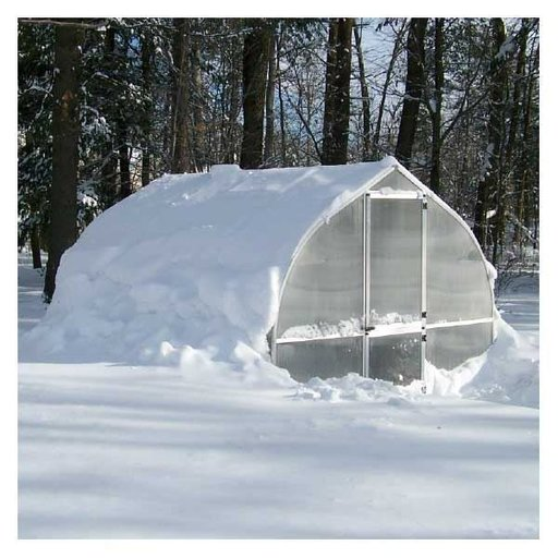 View a Larger Image of Riga IV Greenhouse Kit, 135 sq. ft.