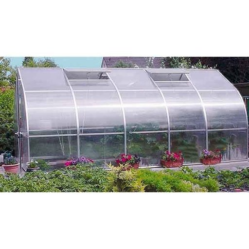 View a Larger Image of Riga V Greenhouse Kit, 165 sq. ft.
