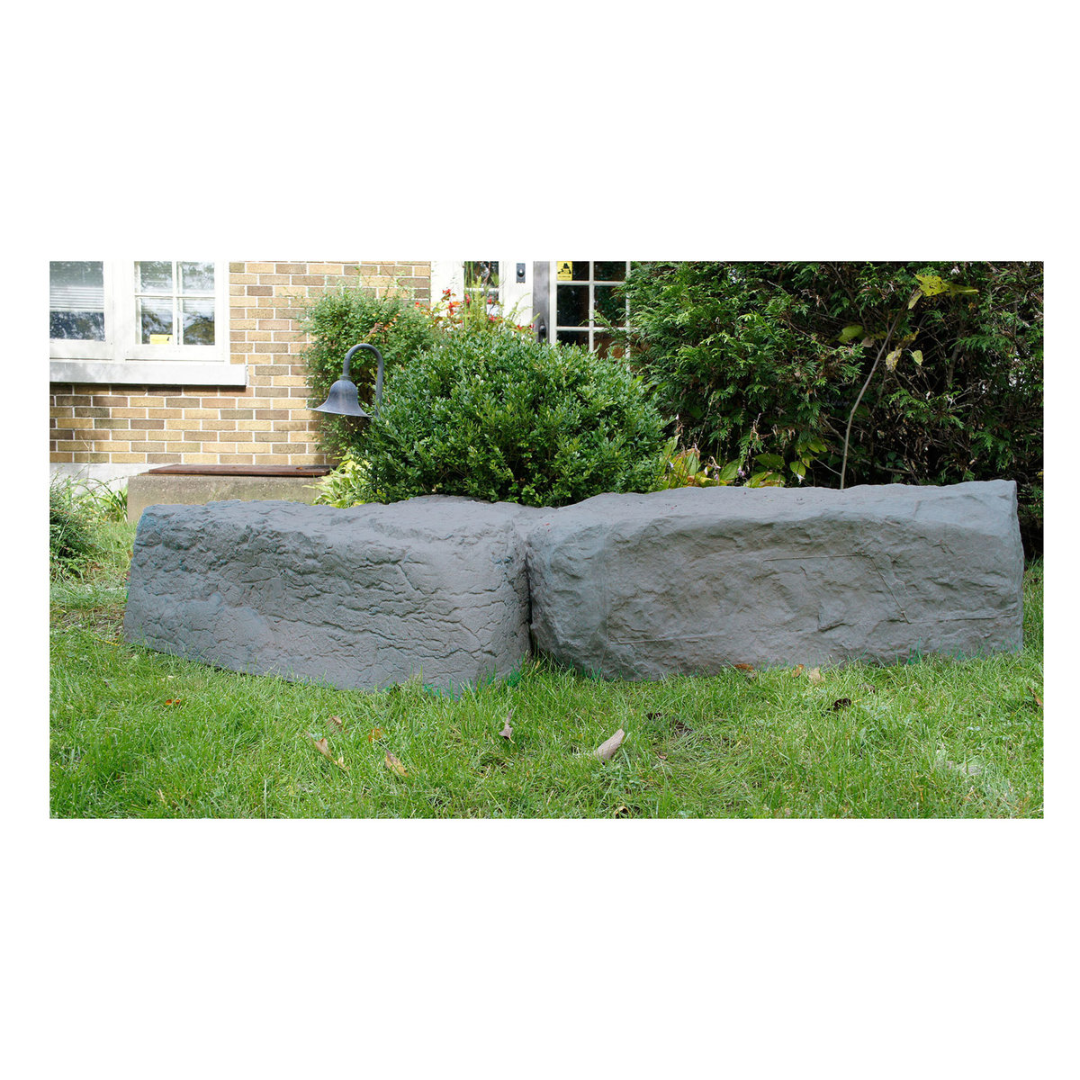 Rts Home Accents Right Triangle Landscape Rock Grey