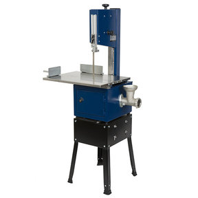 """3/4HP 10"""" Meat Saw with Grinder"""