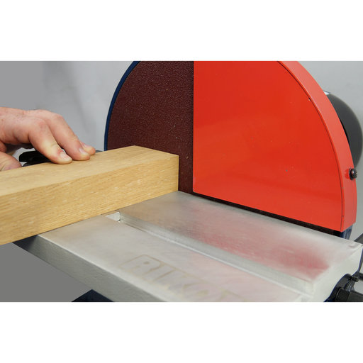 "View a Larger Image of 12"" Disc Sander, 1.25HP, with Guard and Dust Hose, 51-202"