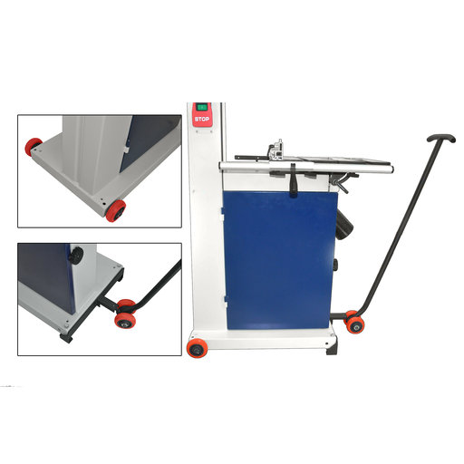 View a Larger Image of Full Frame Heavy-Duty Bandsaw Mobility Kit