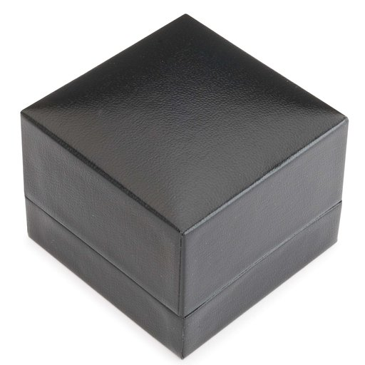 View a Larger Image of Ring Display Box - Black w/Felt Lining