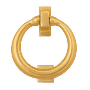 Ring Door Knocker - Brass