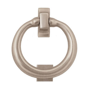 Ring Door Knocker - Nickel Silver