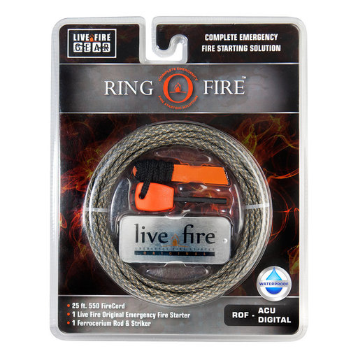 View a Larger Image of  Ring O Fire ACUDIGITAL Paracord