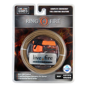 Ring O Fire COYOTEBROWN Paracord