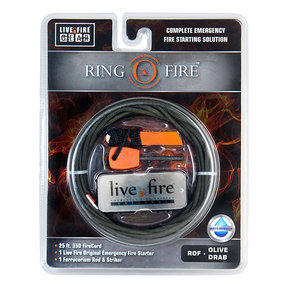 Ring O Fire OLIVEDRAB Paracord