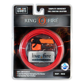 Ring O Fire RED Paracord