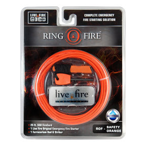 Ring O Fire SAFETYORANGE Paracord