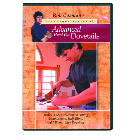 View a Larger Image of Advanced Handcut Dovetails DVD
