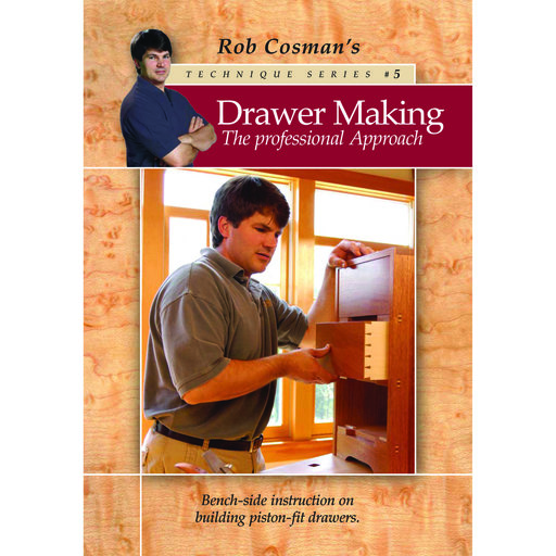 View a Larger Image of Drawer Making-The Professional Approach DVD