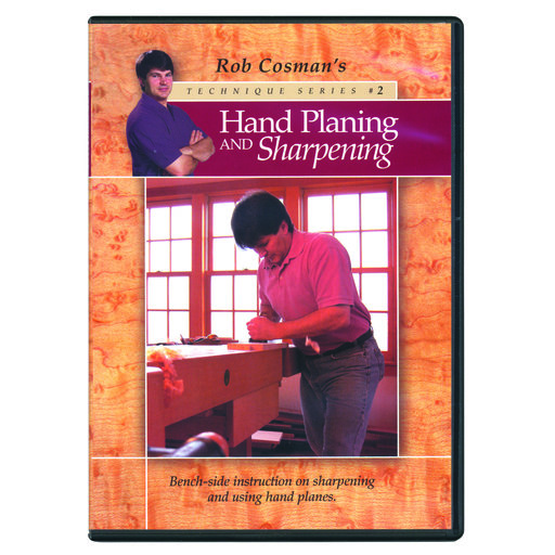 View a Larger Image of Hand Planing & Sharpening DVD