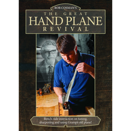 View a Larger Image of The Great Hand Plane Revival DVD