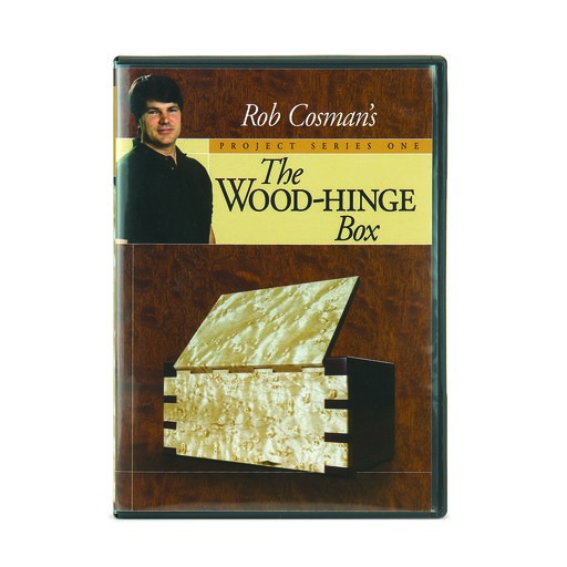 View a Larger Image of Wood-Hinge Box DVD