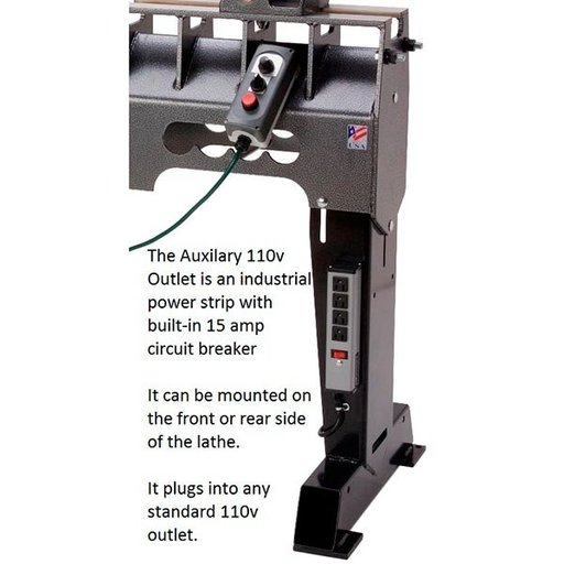 View a Larger Image of Deluxe Sweet 16 Lathe