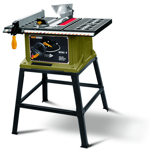 "View a Larger Image of 10"" Table Saw with Leg Stand, 13 Amp, Model RK7240.1"