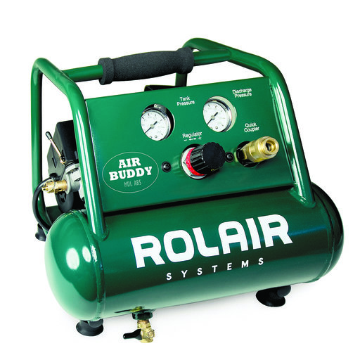 View a Larger Image of Rolair AB5 Air Buddy, 1/2 HP, 1 Gal Compressor