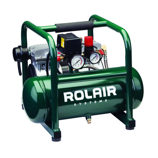 View a Larger Image of Rolair JC10 - 1HP Oil Less 2.5 Gallon Air Compressor