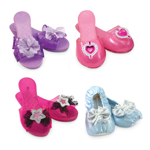 "View a Larger Image of Role Play Collection, Step In Style! Dress-Up Shoes, Pretend Play, Set (4 Pairs), 11"" H x 12"" W x 4.5"" L"