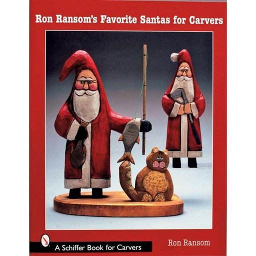 View a Larger Image of Ron Ransom's Favorite Santas for Carvers