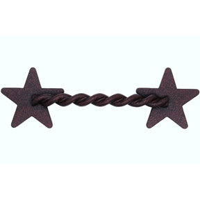 Rope Star Pull, Rust Brown