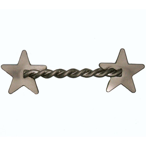 View a Larger Image of Rope Star Pull, Satin Nickel