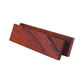 "Rosewood, Burmese 3/8"" x 1-1/2"" x 5"" Knife Scale 2pc"