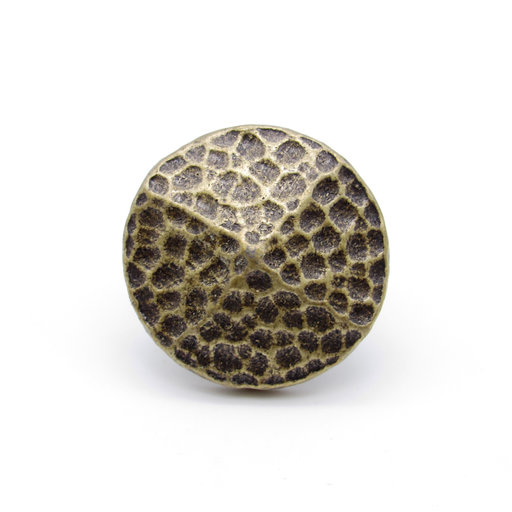 "View a Larger Image of Round 1-1/4"" Hammered Clavo, 8-Pack, Brass Oxide"