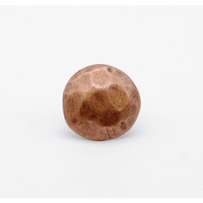 "Round 1-1/8"" Clavo Decorative Nail, 8-Pack, Copper Oxide"