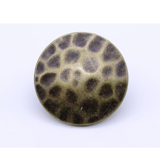 """View a Larger Image of Round 1-3/4"""" Hammered Clavo, 4-Pack, Brass Oxide"""