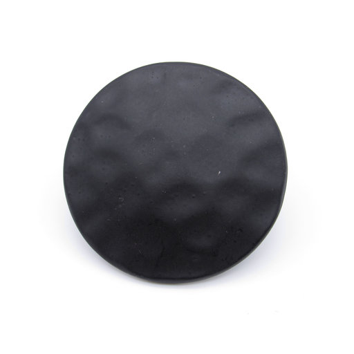 """View a Larger Image of Round 1-3/4"""" Hammered Clavo, 8-Pack, Matte Black"""