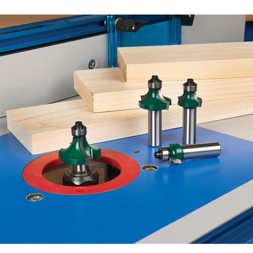 "View a Larger Image of Round Over Router Bit Set, 1/2"" Shank"