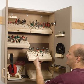 Router Cabinet - Downloadable Plan