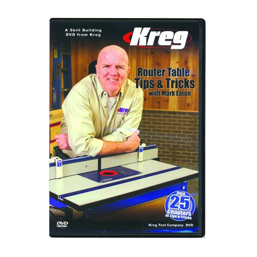 View a Larger Image of Router Table Tips & Tricks With Mark Eaton DVD, Kreg# V09-DVD