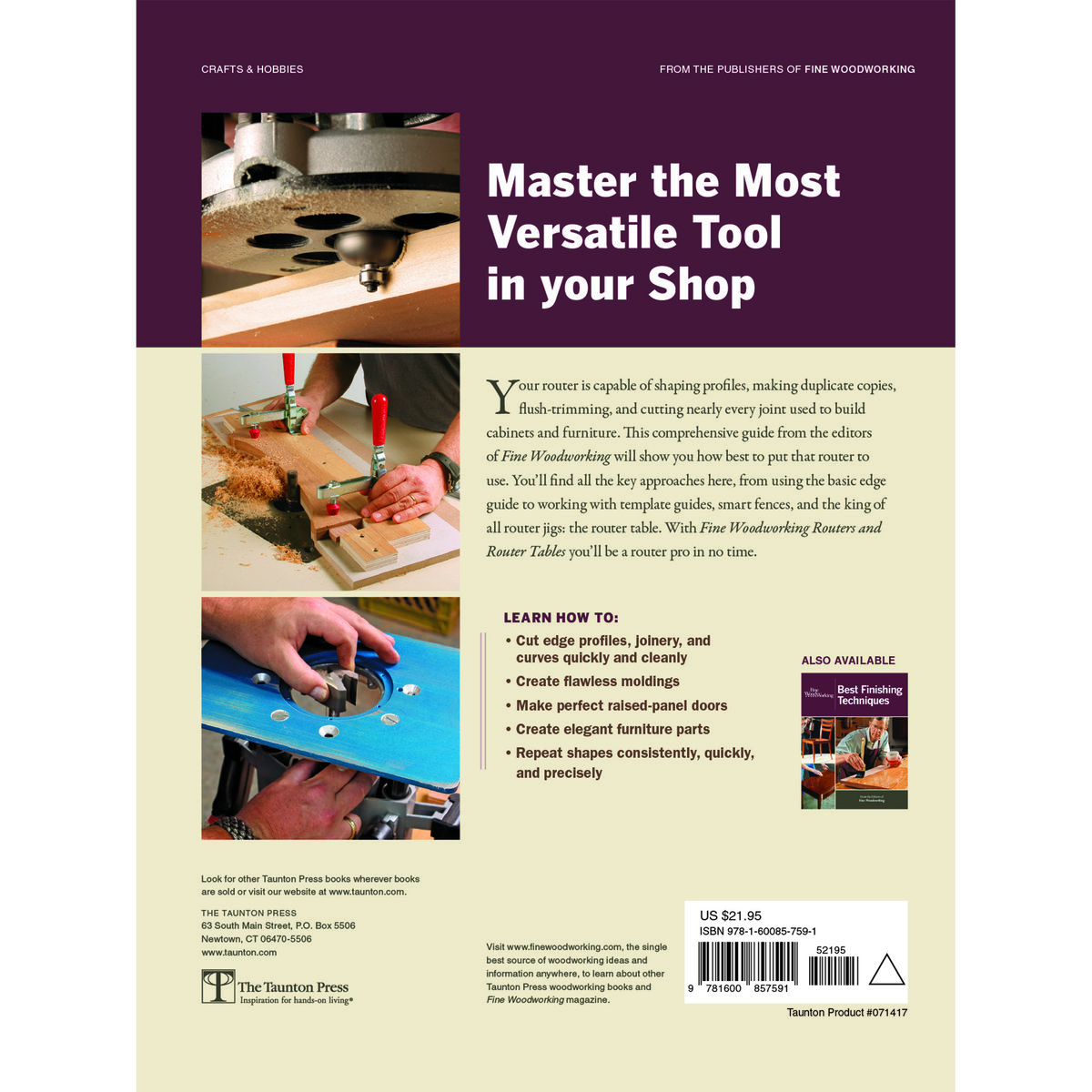 Fine Woodworking Routers And Router Tables