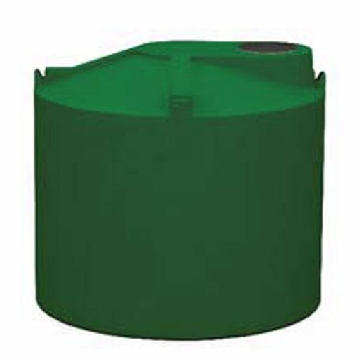 View a Larger Image of Round Rain Harvest Tank System, 1500 gallon, Green
