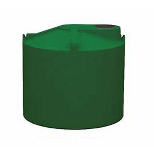 View a Larger Image of Round Rain Harvest Tank System, 600 gallon, Green