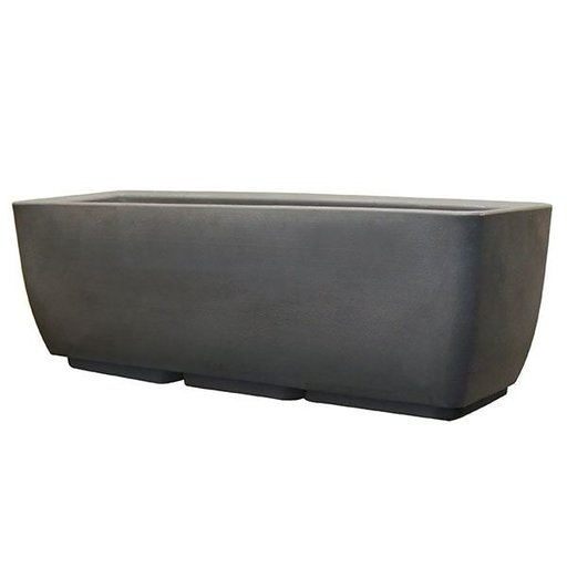 """View a Larger Image of Urban Planter, 30"""" x 10"""", Graphite"""