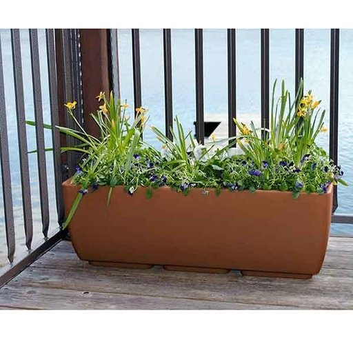 "View a Larger Image of Urban Planter, 36"" x 15"", Terra Cotta"