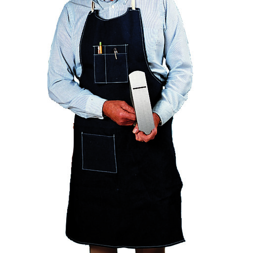 View a Larger Image of Rugged Blue Denim Workshop Apron