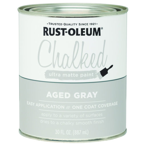 View a Larger Image of Rustoleum Chalked Paint Aged Gray