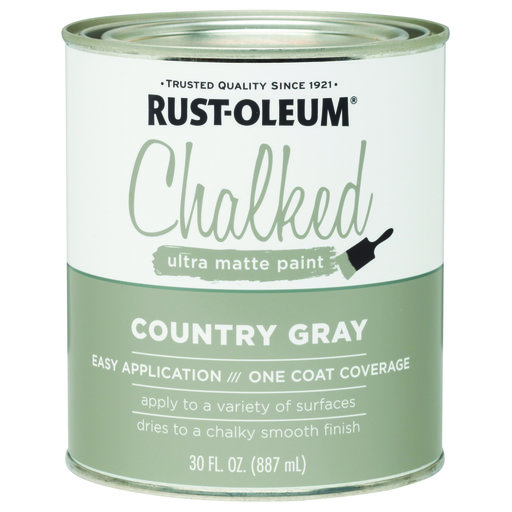 View a Larger Image of Rustoleum Chalked Paint Country Gray