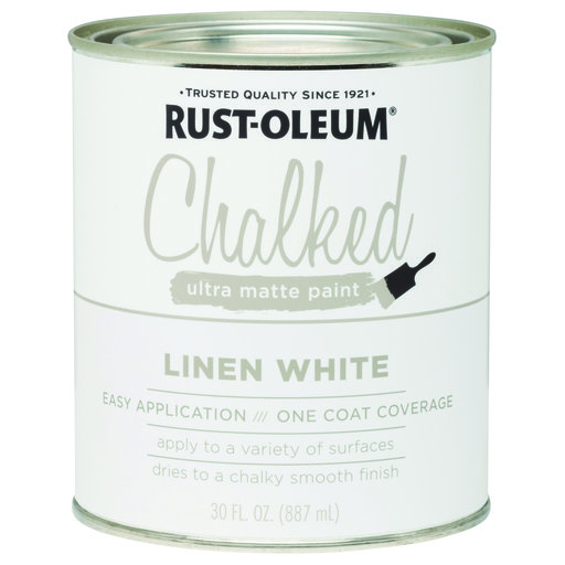 View a Larger Image of Rustoleum Chalked Paint Linen White