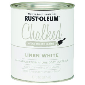 Rustoleum Chalked Paint Linen White