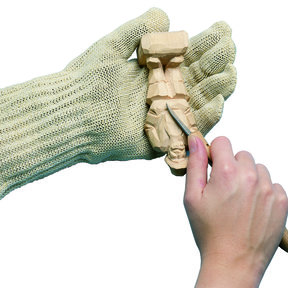 "Safety Glove, Medium, 7""- 9"""
