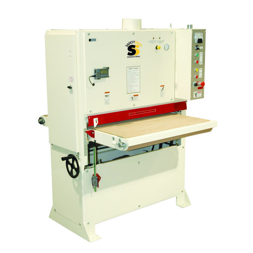 View a Larger Image of Safety Speed 3760 Wide Belt Sander, 10HP, 1 phase